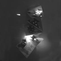 "Александра Димитрова – ""Древни родови символи"", арт книга, 33/100см, CGD+CGI+handmade pop up, 2017"