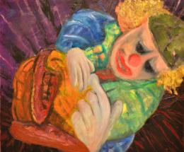 """Янко Велков-Янеца, """"Сънят на клоуна кукла"""""""