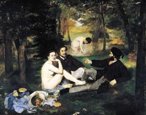 """Закуска на тревата"", Едуар Мане (1862–1863)"