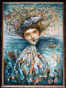"""Лиляна Дворянова, """"Гнездо II: райските риби"""""""